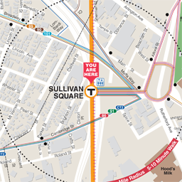 Sullivan Neighborhood Map thumbnail