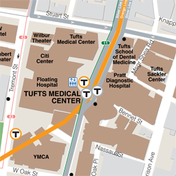 Tufts Neighborhood Map thumbnail