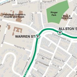Warren St Neighborhood Map thumbnail
