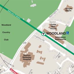 Woodland Neighborhood Map thumbnail