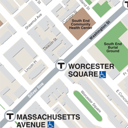 Worcester Sq Neighborhood Map thumbnail